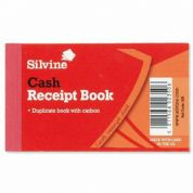 Silvine Cash Receipt Book